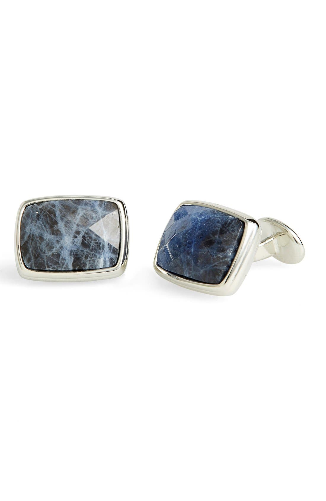 Main Image - David Donahue Sodalite Cuff Links