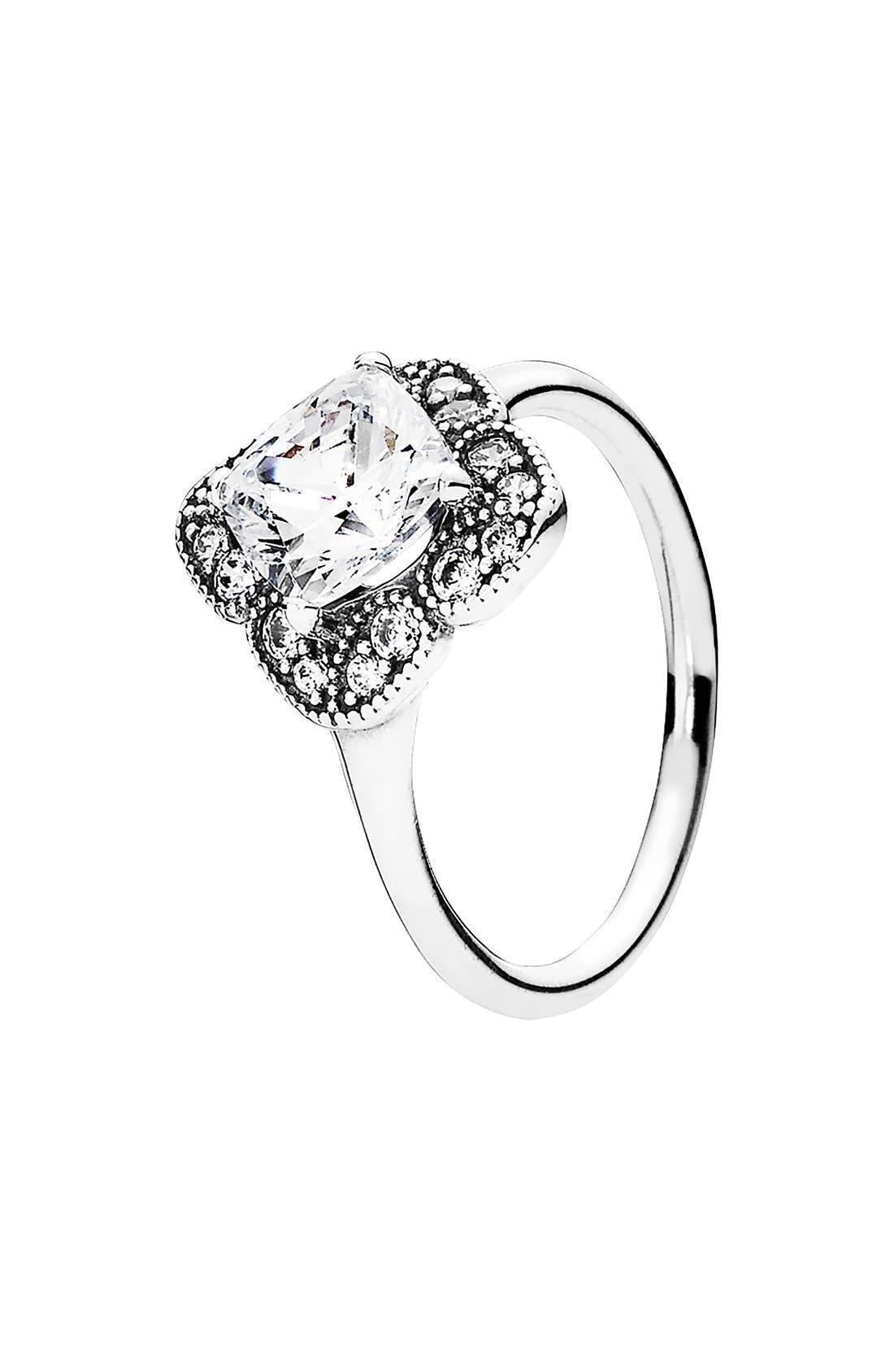 Alternate Image 1 Selected - PANDORA 'Floral Fancy' Ring
