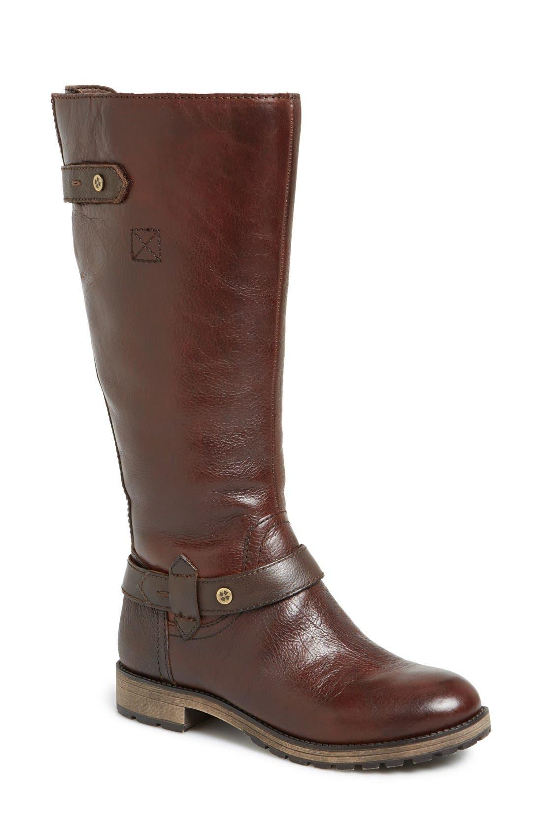 'Tanita' Boot,                         Main,                         color, Tan Leather