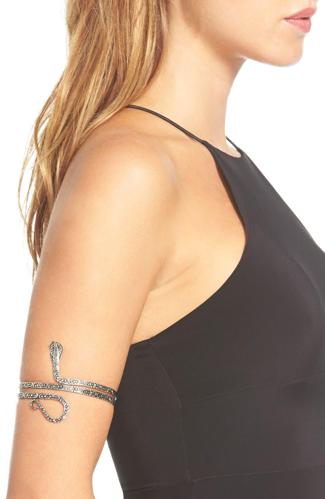 Alternate Image 2  - Raga Snake Arm Cuff