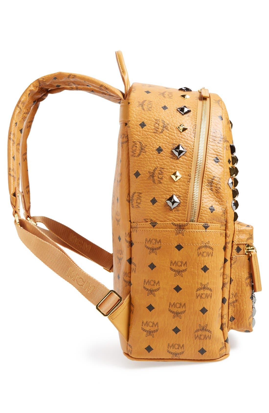 Alternate Image 5  - MCM 'Medium Stark M' Stud Backpack
