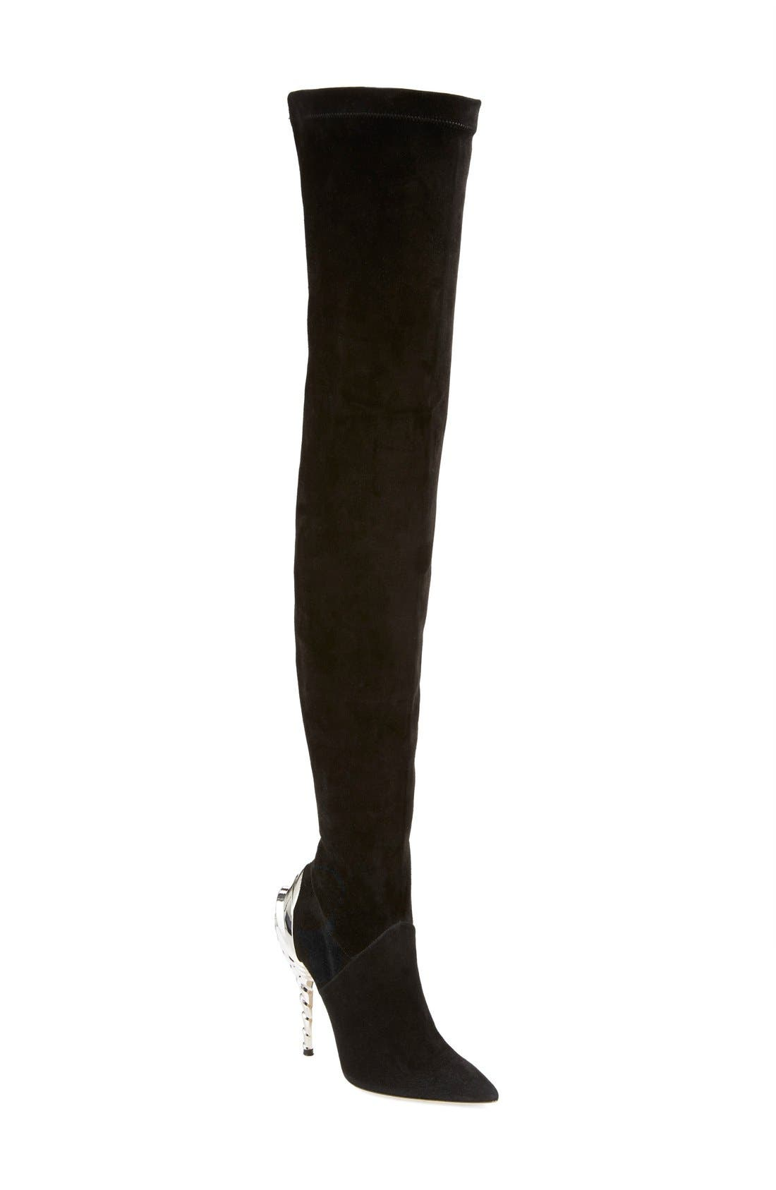 Alternate Image 1 Selected - Paul Andrew 'Chrysler' Thigh High Boot (Women) (Narrow Calf)