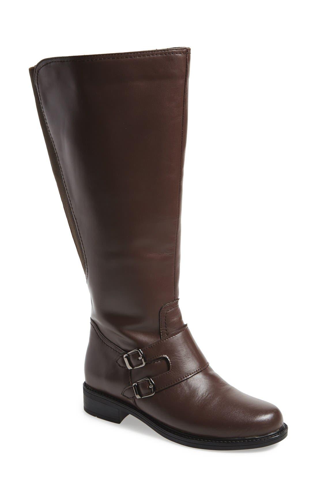 David Tate 'Highland' Boot (Women) (Wide Calf)