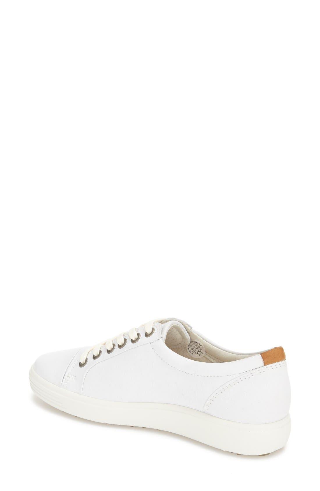 Soft 7 Sneaker,                             Alternate thumbnail 2, color,                             White
