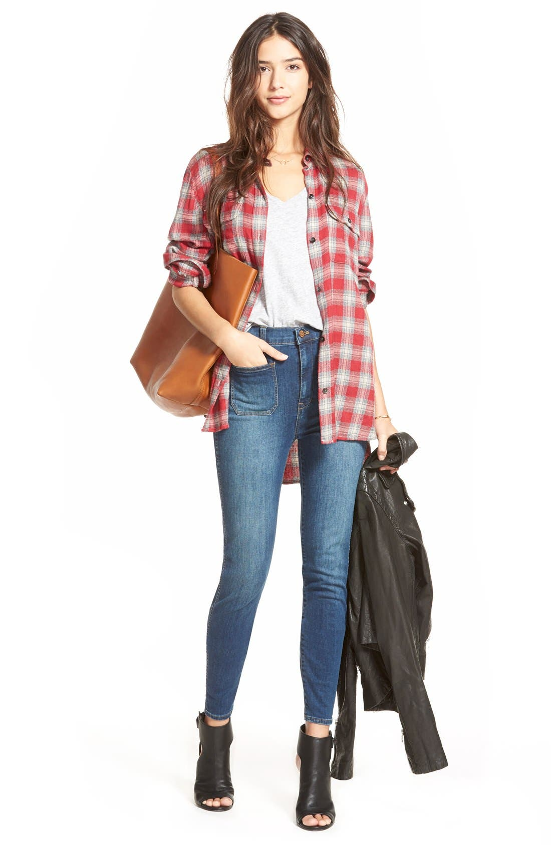 Alternate Image 6  - Madewell 'The Transport' Leather Tote