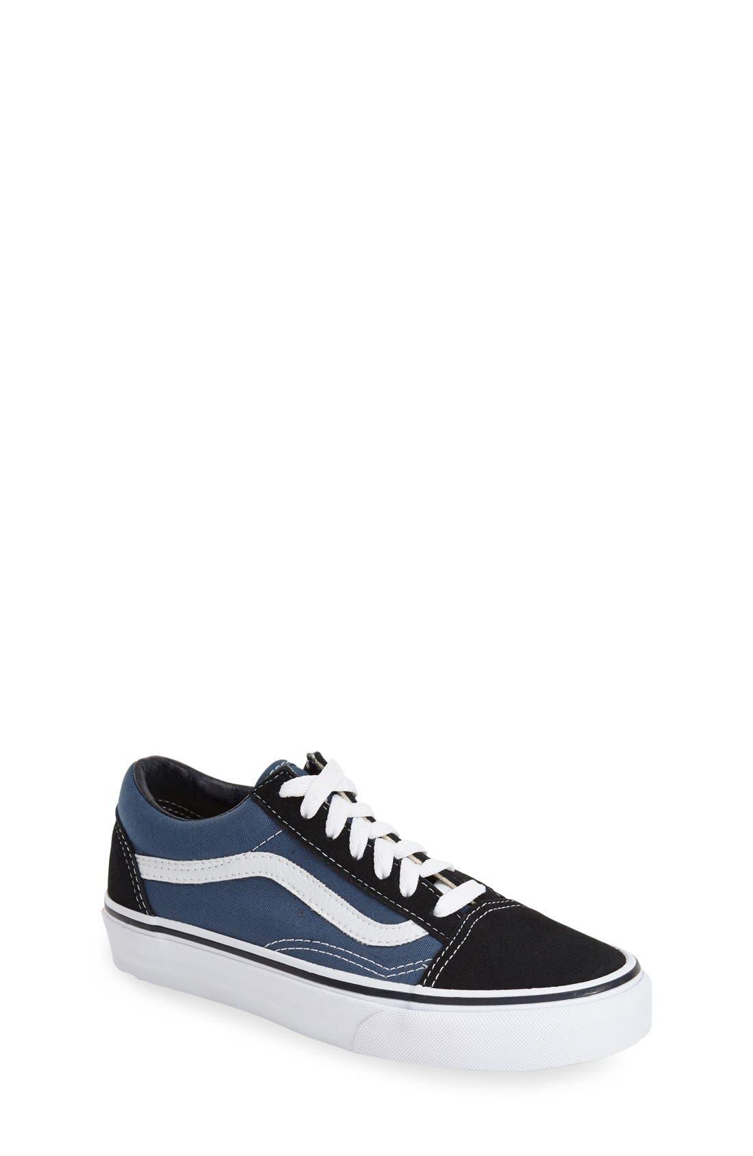 Alternate Image 1 Selected - Vans 'Old Skool' Sneaker (Big Kid)