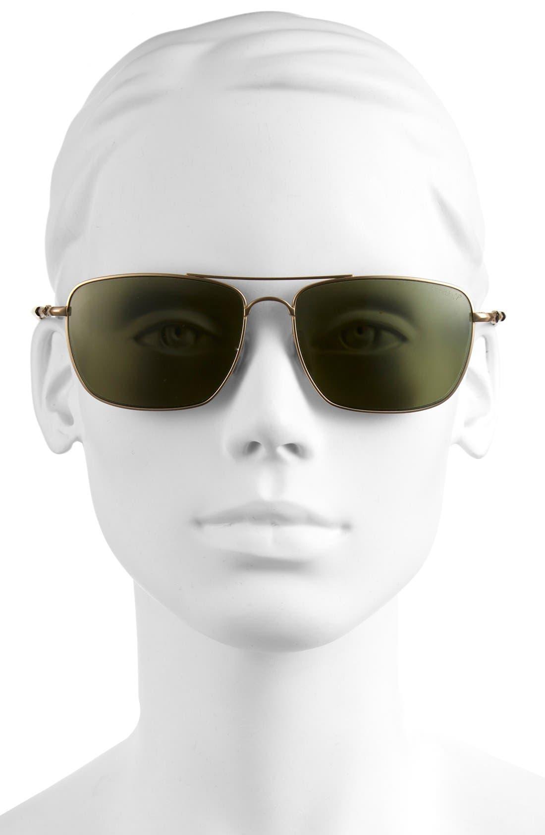 Alternate Image 2  - Smith 'Nomad' 59mm Polarized Sunglasses