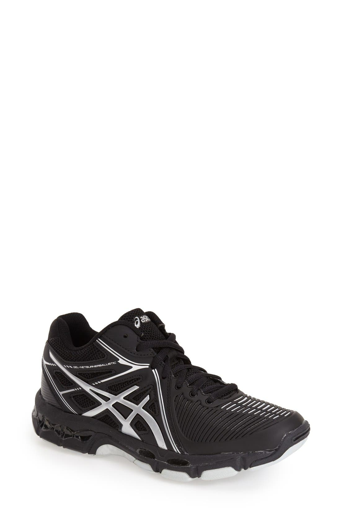 Alternate Image 1 Selected - ASICS® 'GEL-Netburner' Mid Volleyball Shoe (Women)
