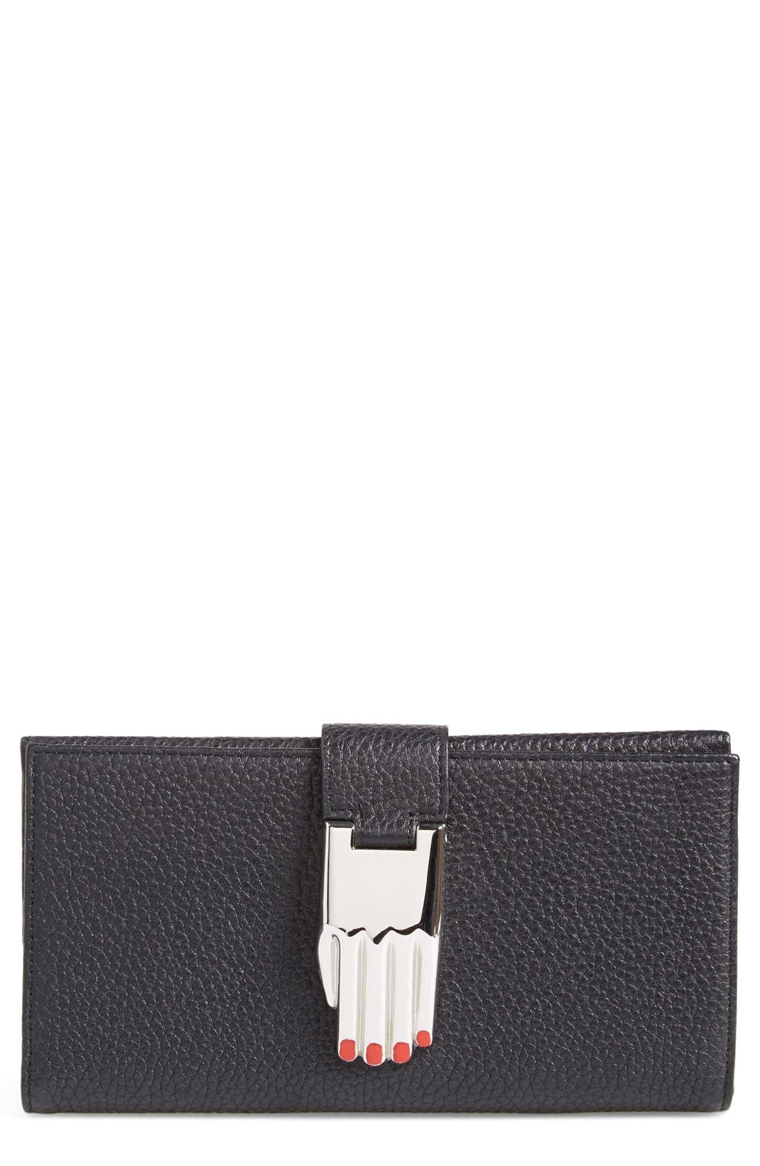 Alternate Image 1 Selected - Opening Ceremony 'Misha' Leather Wallet