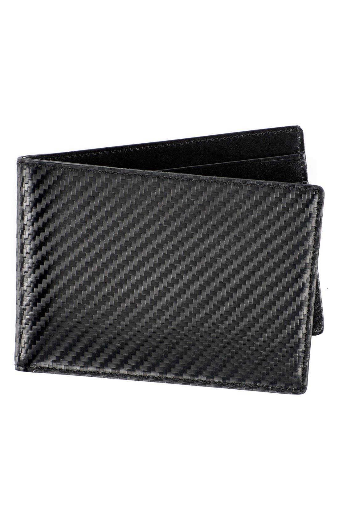 Alternate Image 1 Selected - WürkinStiffs Leather RFIDWallet