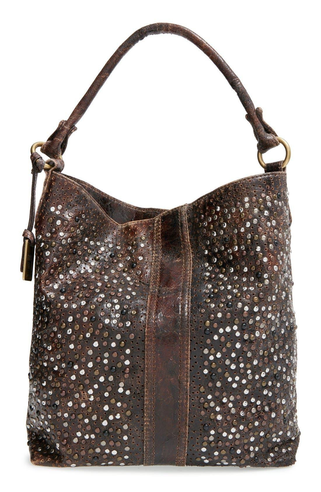 Main Image - Frye 'Deborah' Studded Shoulder Bag