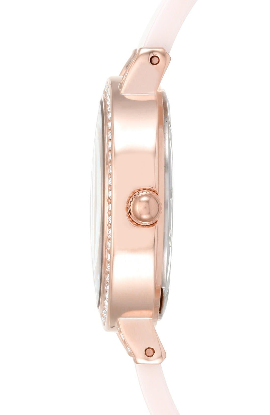 Alternate Image 3  - Anne Klein Boxed Bracelet & Bangle Watch Set, 28mm