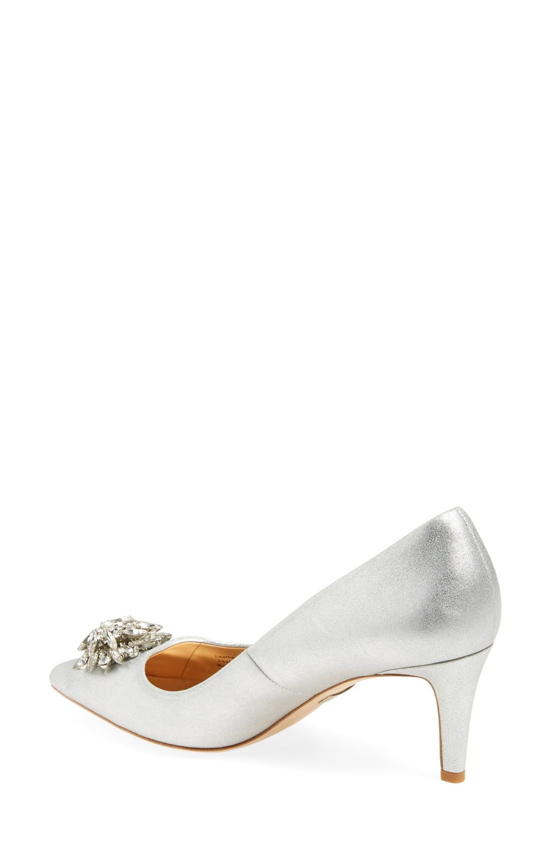 Alternate Image 2  - Badgley Mischka 'Gardenia' Pointy Toe Pump (Women)