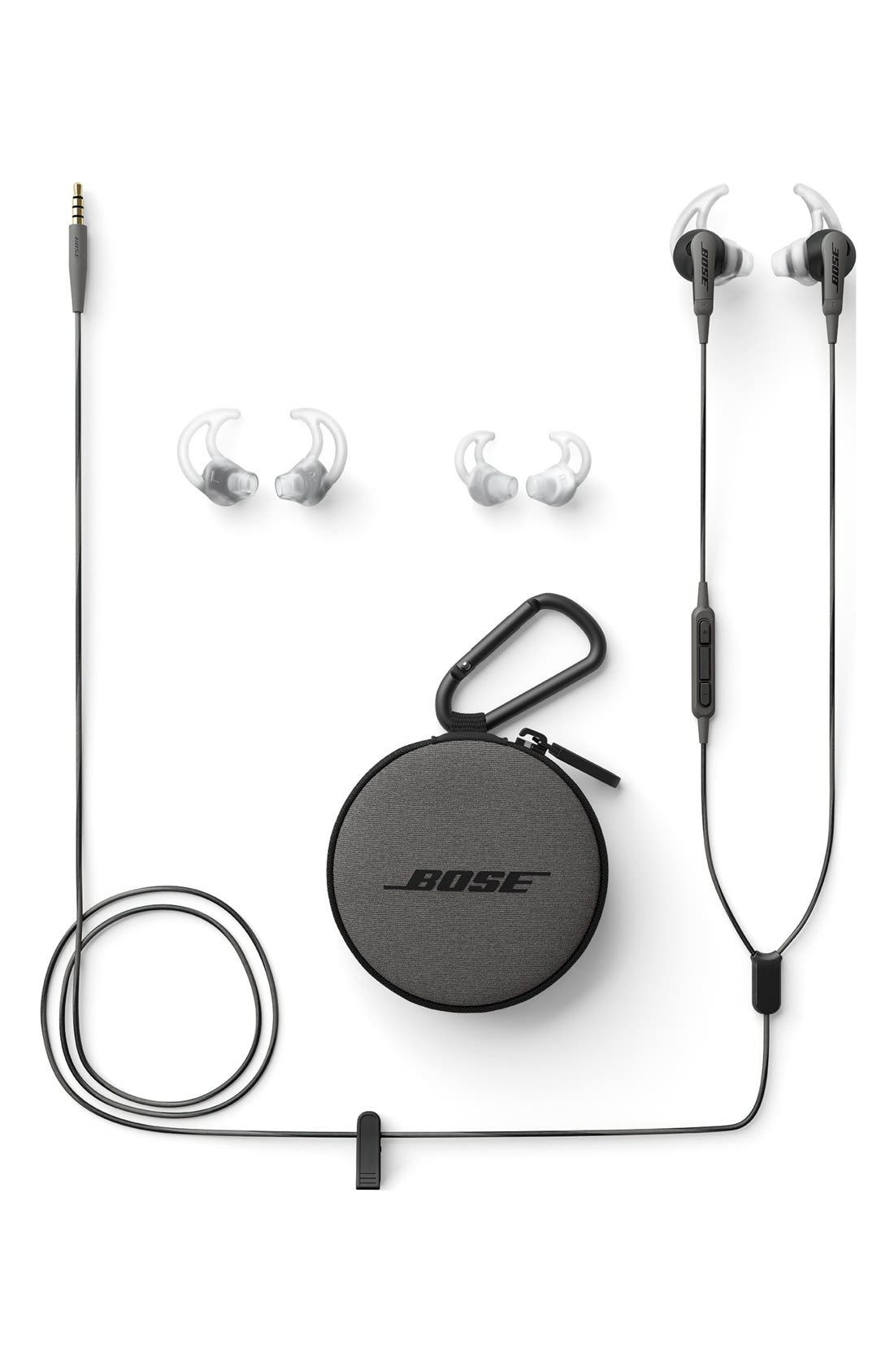 SoundSport<sup>®</sup> In-Ear Audio Only Headphones,                             Alternate thumbnail 2, color,                             Charcoal