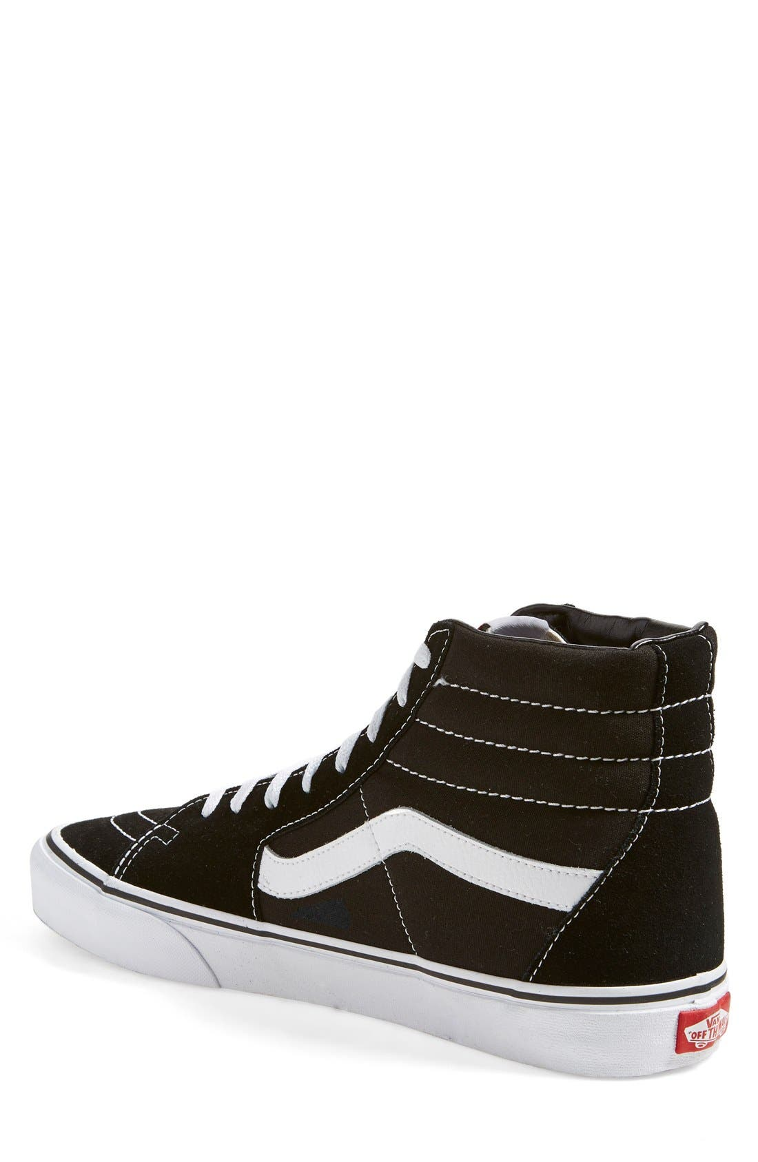 Alternate Image 2  - Vans 'Sk8-Hi' Sneaker (Men)