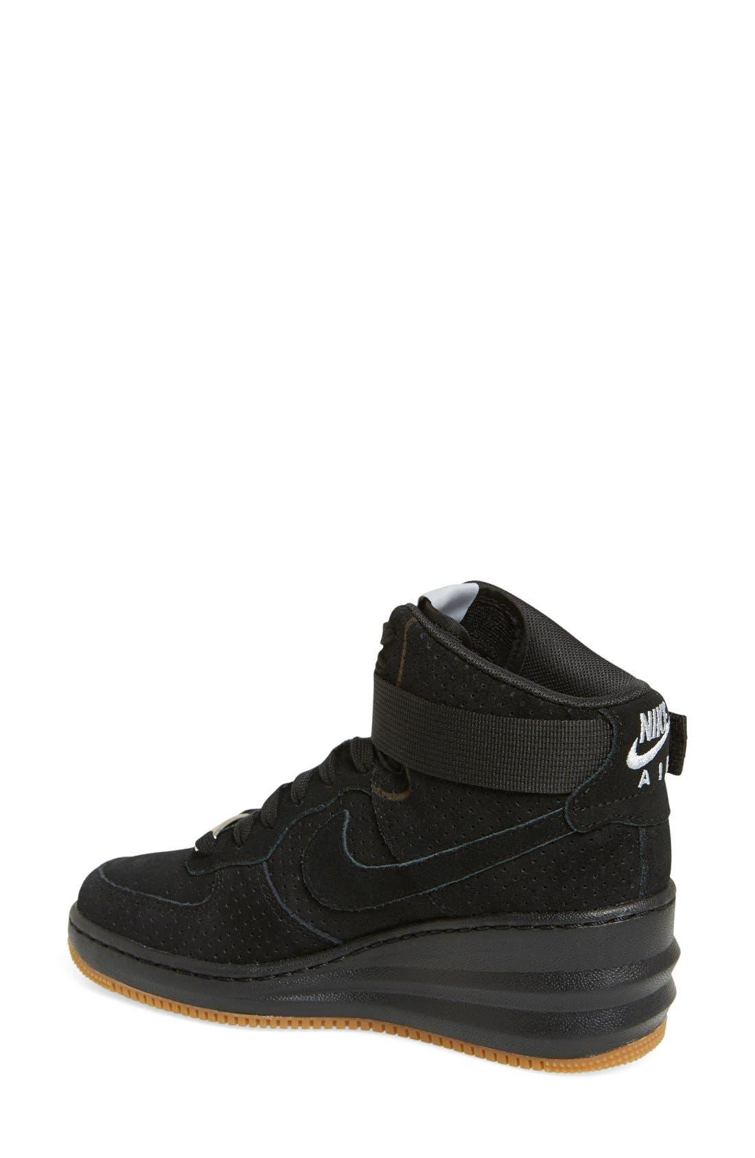 Alternate Image 3  - Nike 'Lunar Force Sky Hi' Wedge Sneaker (Women)