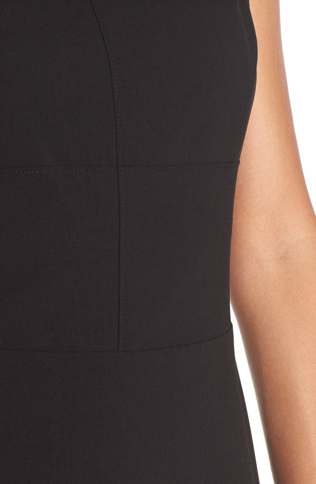 Alternate Image 5  - Marc New York 'Lux' Stretch Fit & Flare Dress