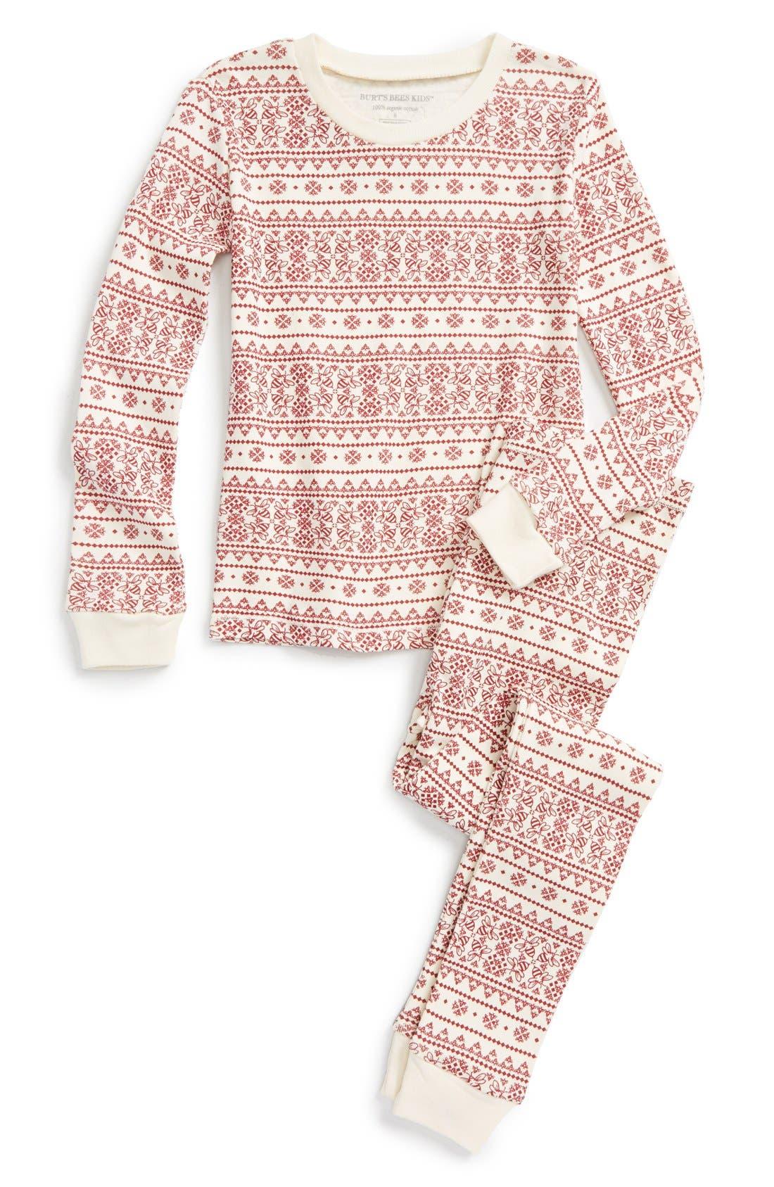 Burt's Bees Baby Organic Cotton Pajamas (Toddler Girls, Little ...