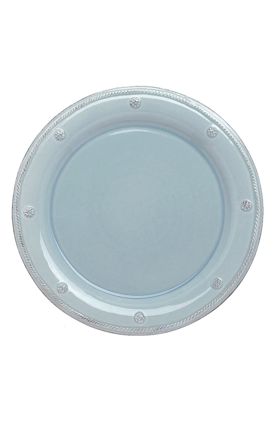'Berry and Thread' Dinner Plate,                             Main thumbnail 1, color,                             Ice Blue