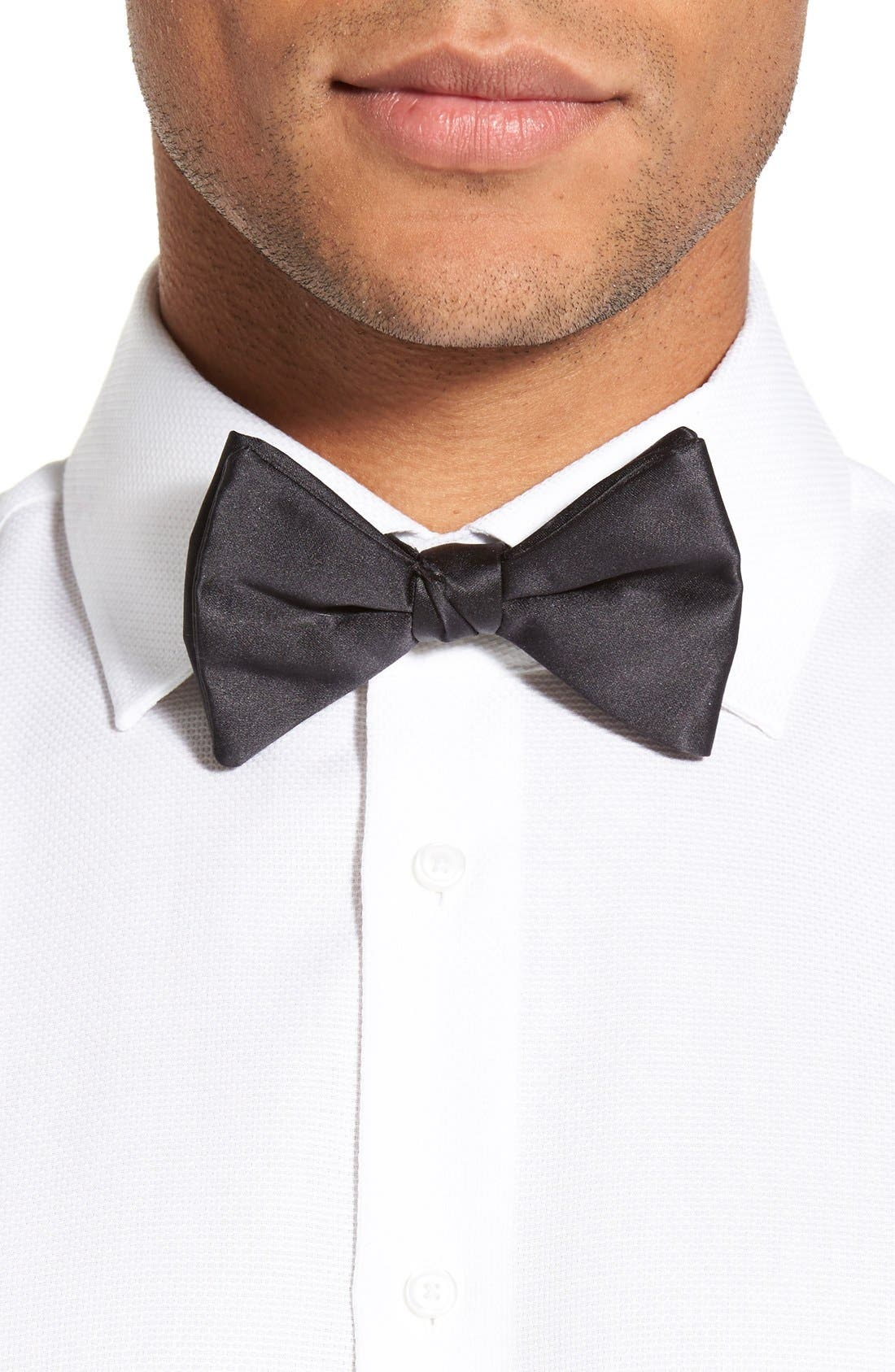 Alternate Image 2  - David Donahue Cummerbund & Pre-Tied Bow Tie Set