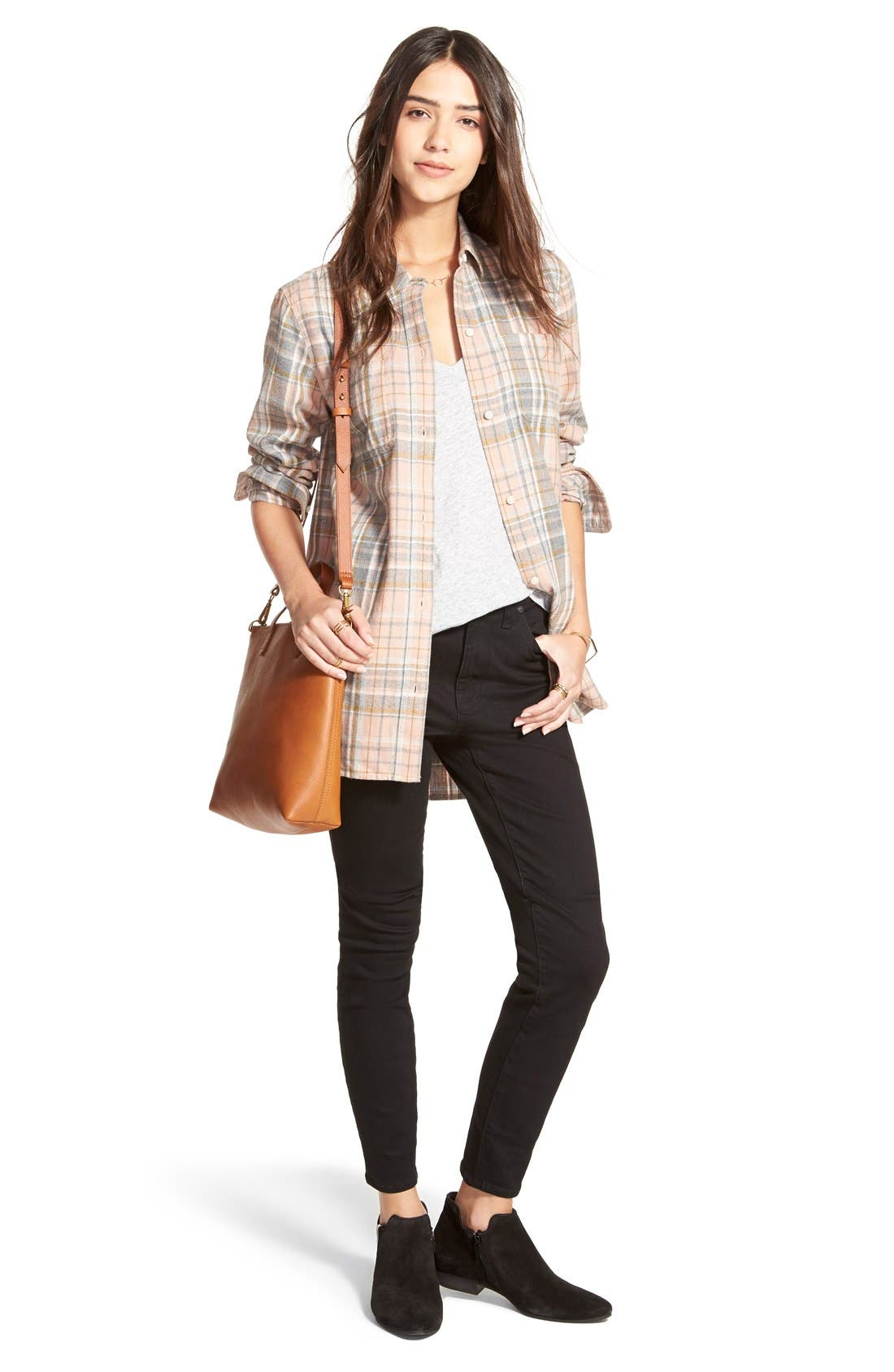 Alternate Image 8  - Madewell The Transport Leather Crossbody Bag