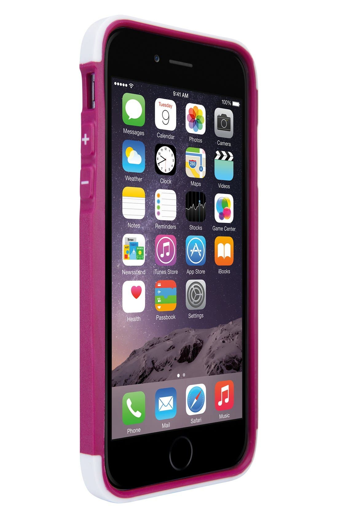 Atmos X3 iPhone 6/6s Case,                             Alternate thumbnail 2, color,                             White/ Orchid