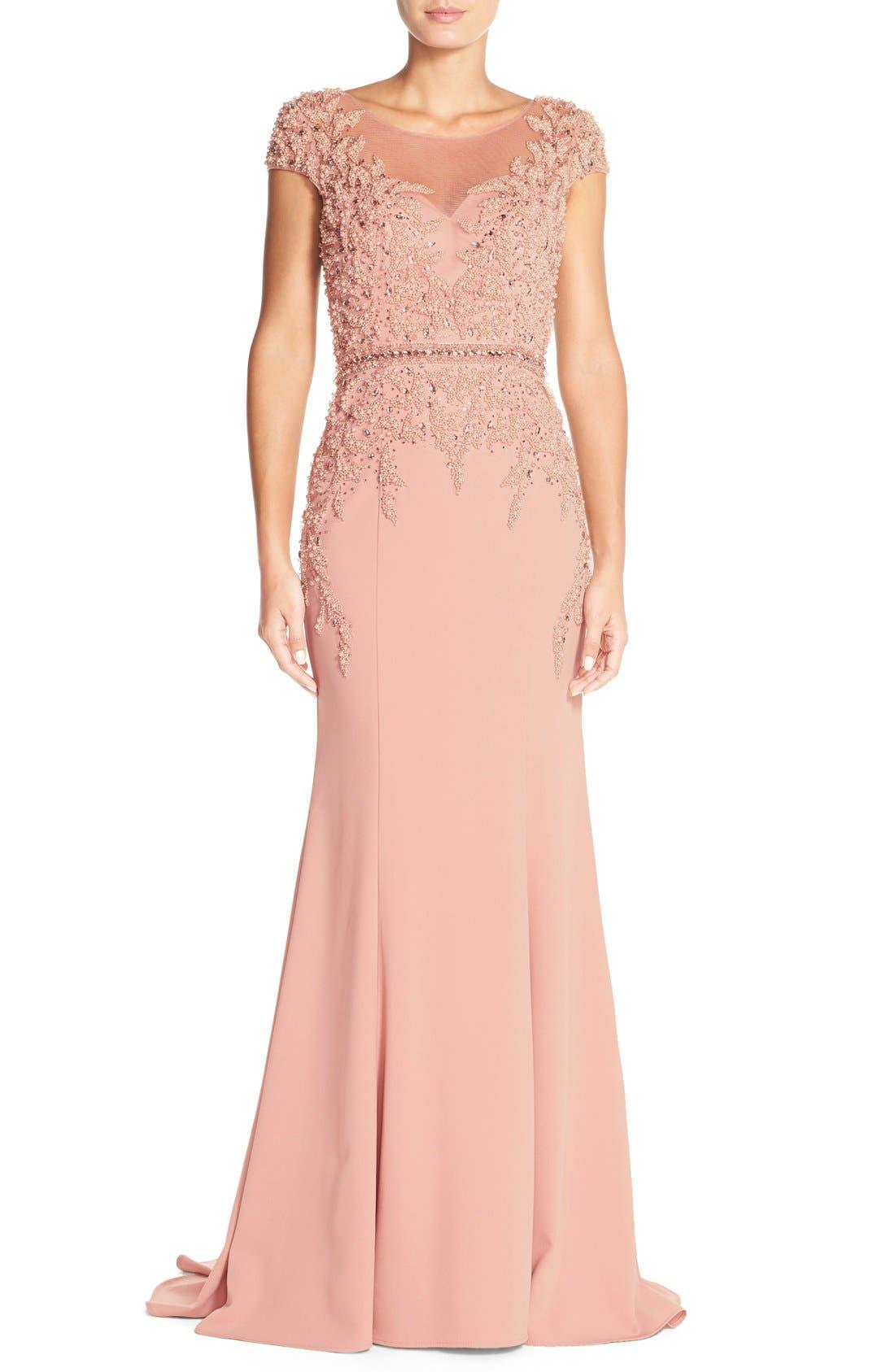 Crepe Mermaid Dress