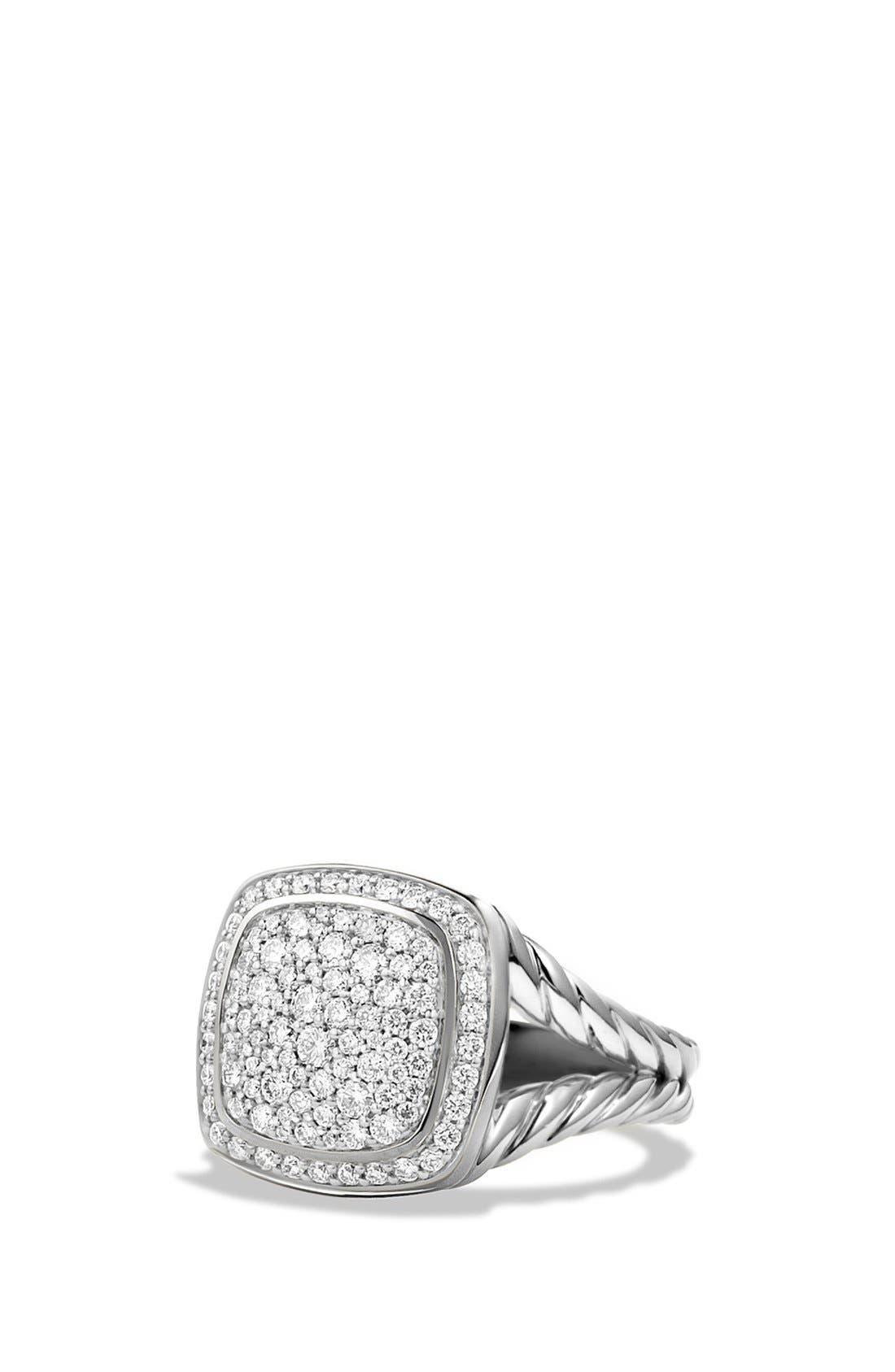 'Albion' Ring with Diamonds,                         Main,                         color, Diamond