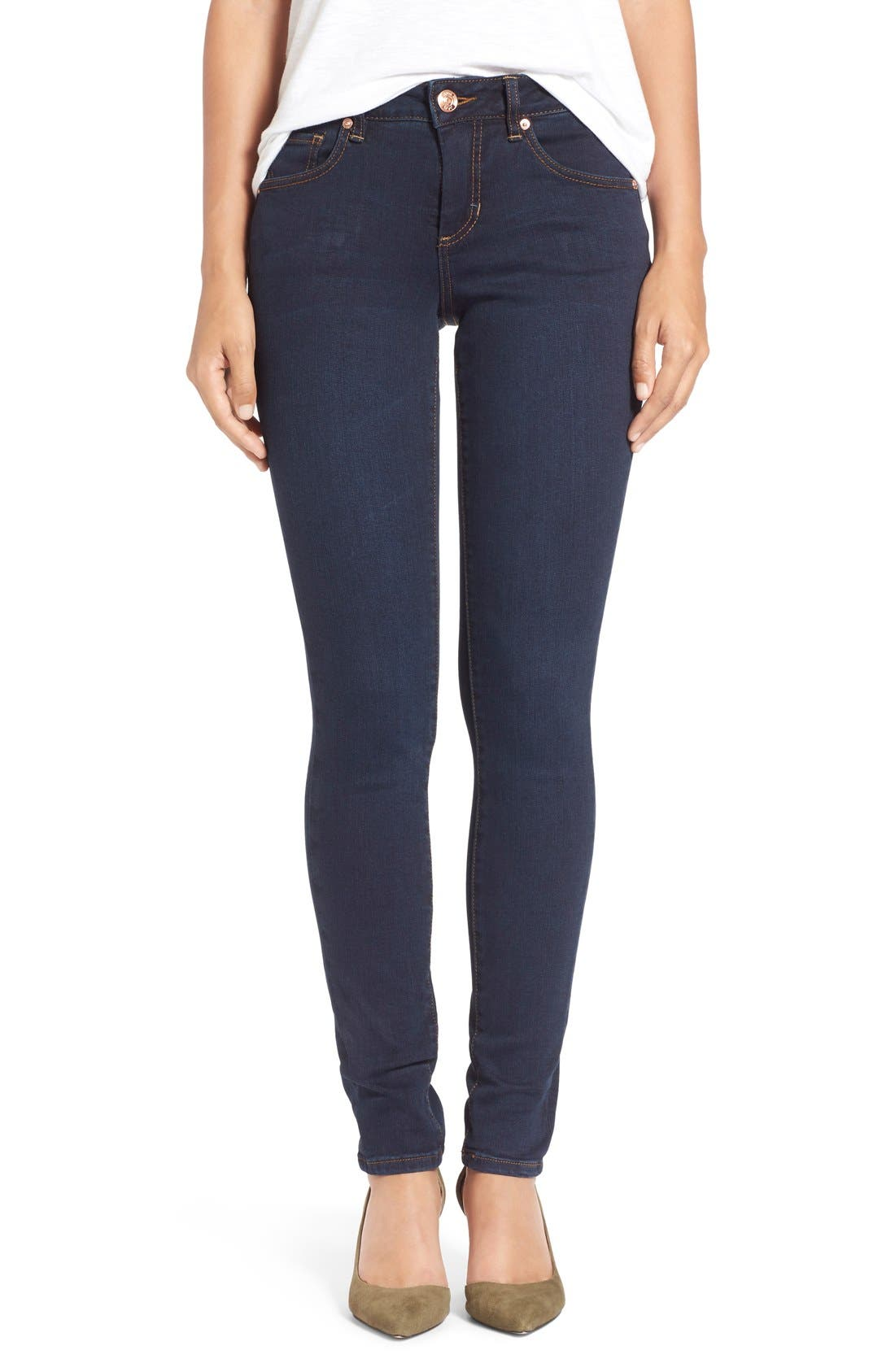 Alternate Image 1 Selected - Jag Jeans 'Westlake' Stretch Skinny Jeans (Indigo Steel)