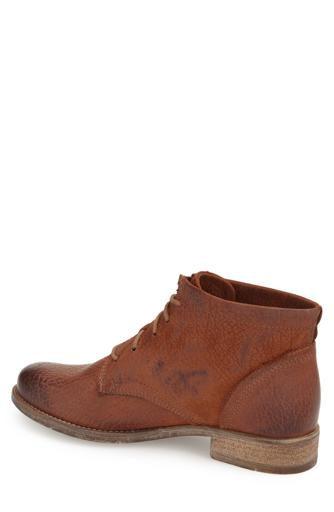 'Sienna 03' Bootie,                             Alternate thumbnail 2, color,                             Castagne Leather