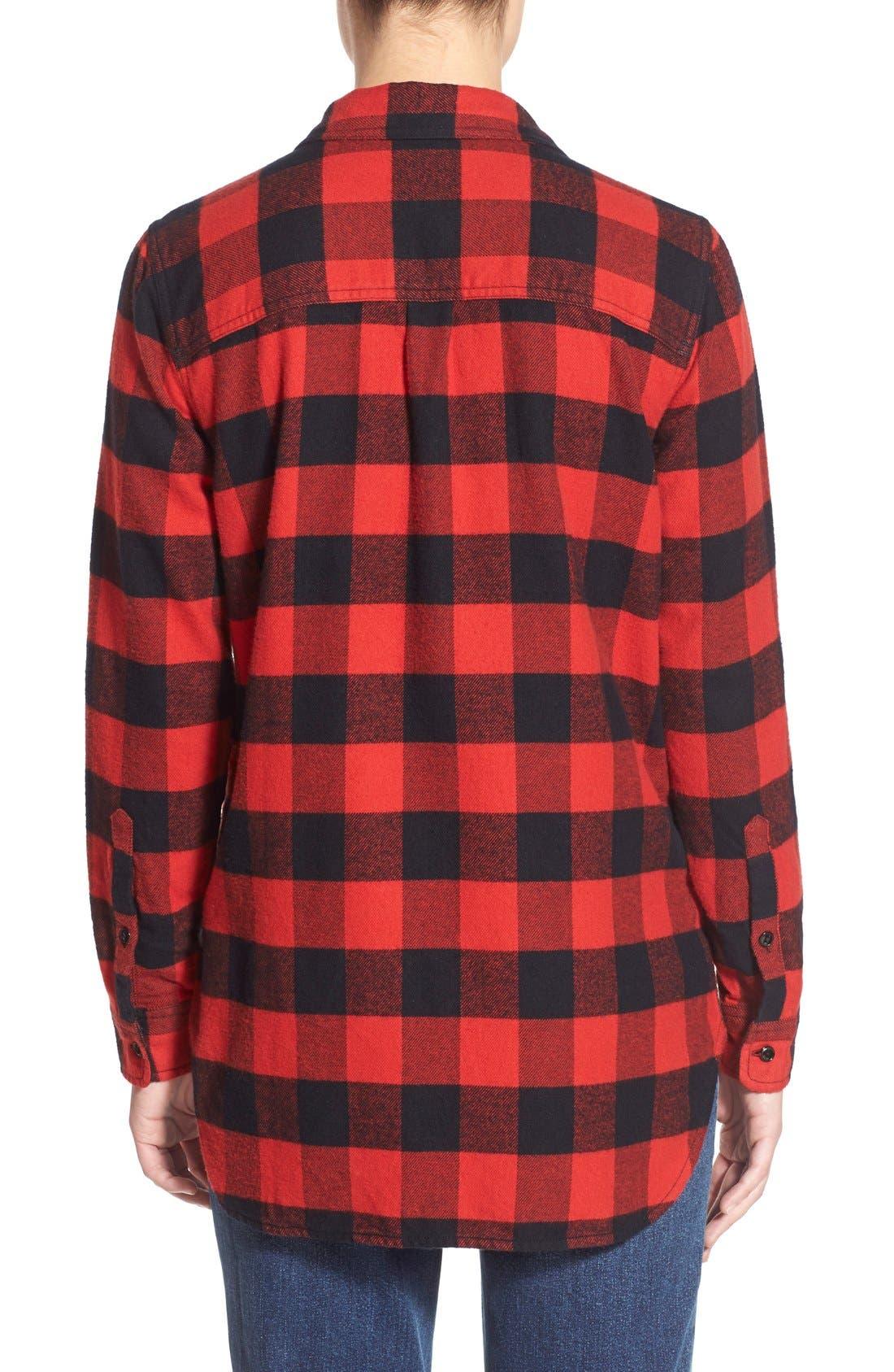 Alternate Image 2  - Madewell 'Ex Boyfriend' Buffalo Check Shirt