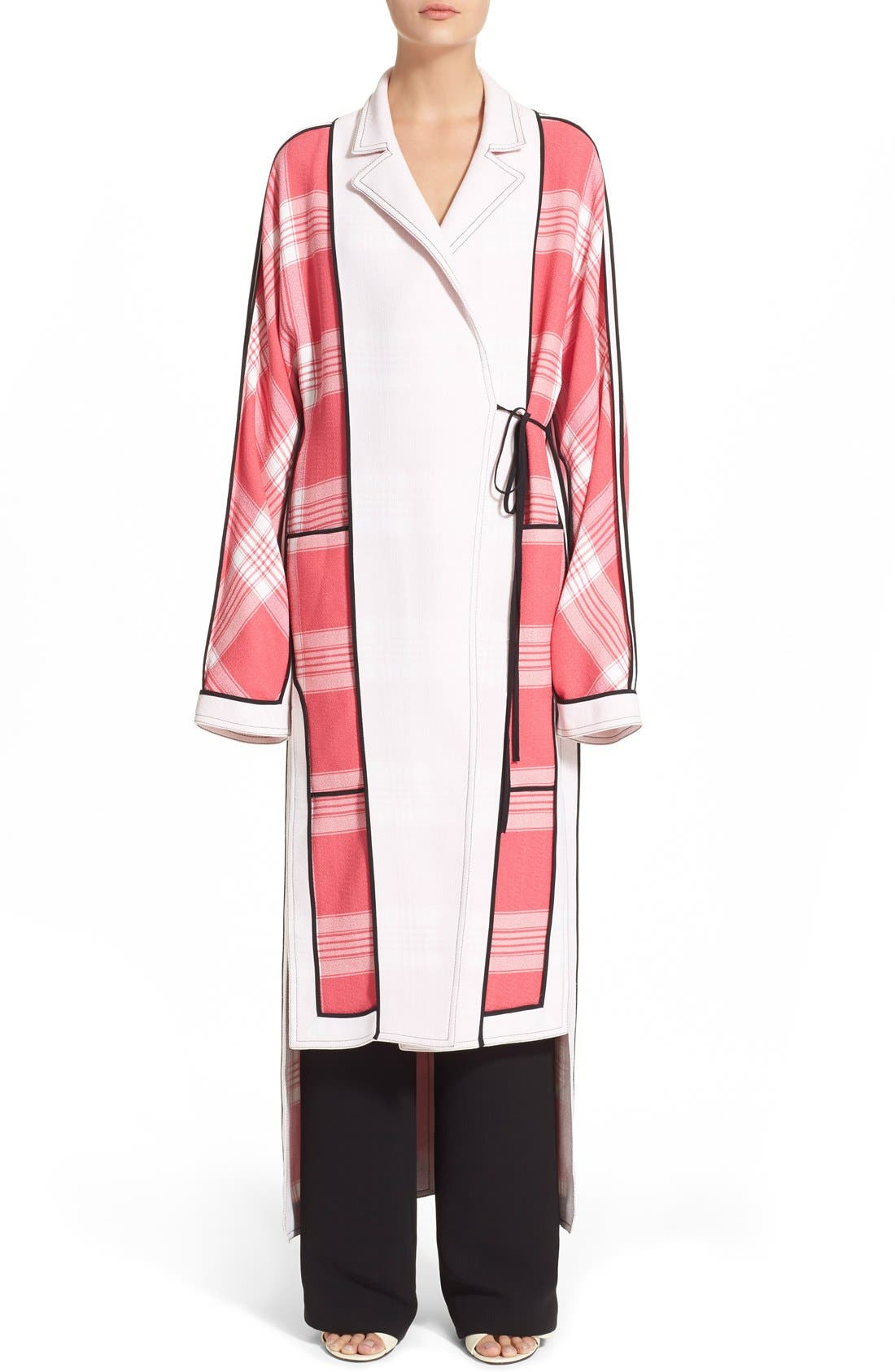 Alternate Image 2 Selected - ACNE Studios 'Vaughn Frosted' Tie Front Cardigan