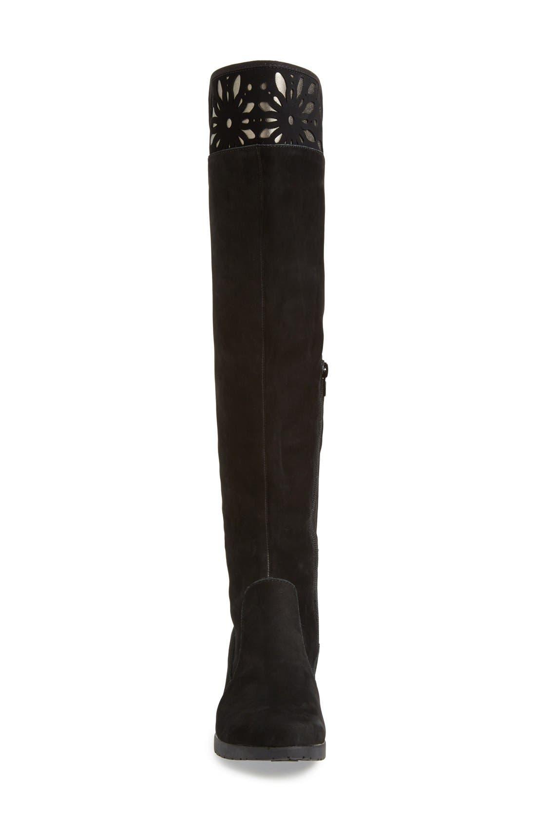 Alternate Image 3  - Jambu'Natalia' CutoutDetail Water ResistantOver the Knee Boot (Women)