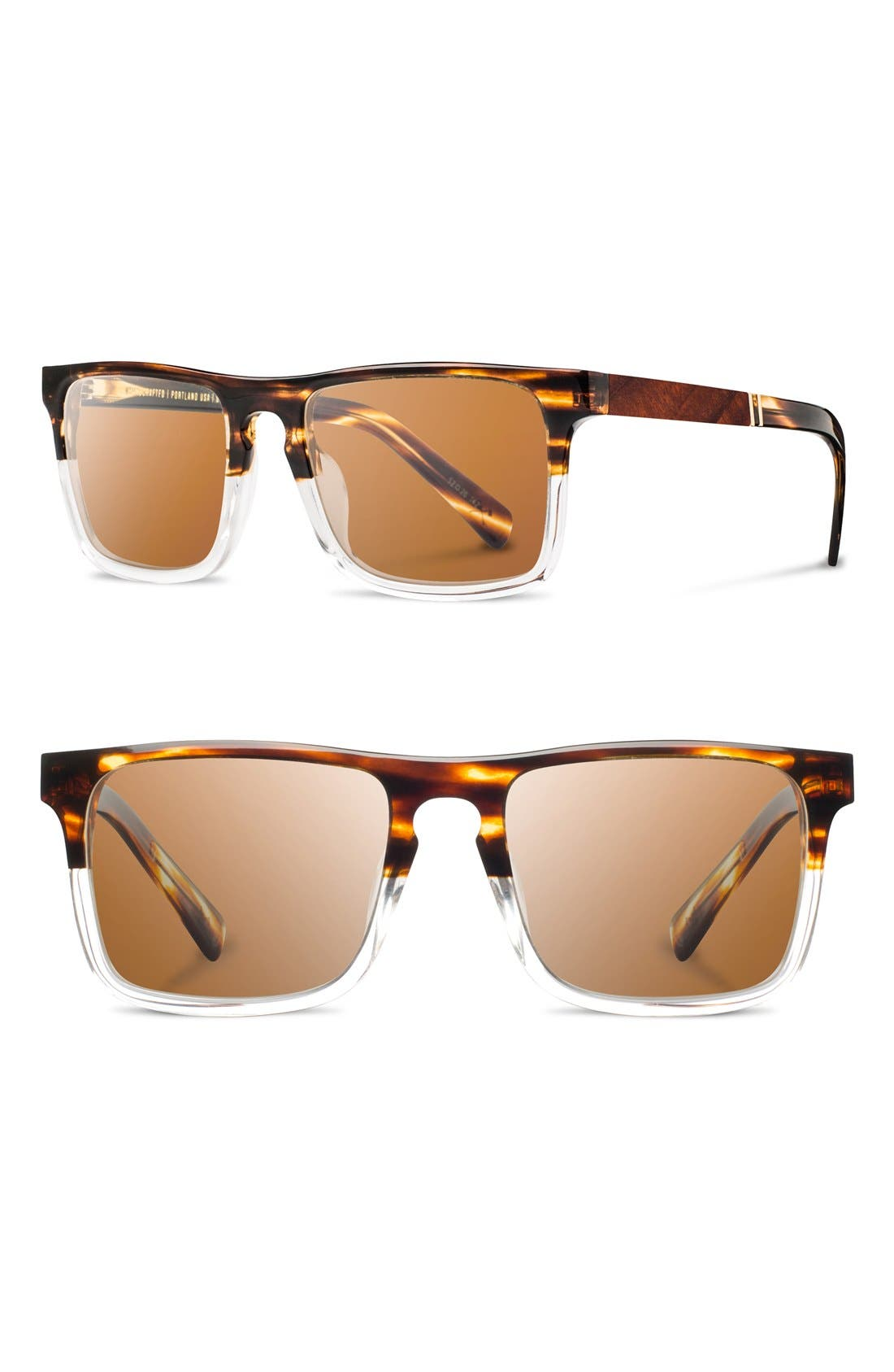 Alternate Image 1 Selected - Shwood 'Govy 2' 52mm Polarized Sunglasses