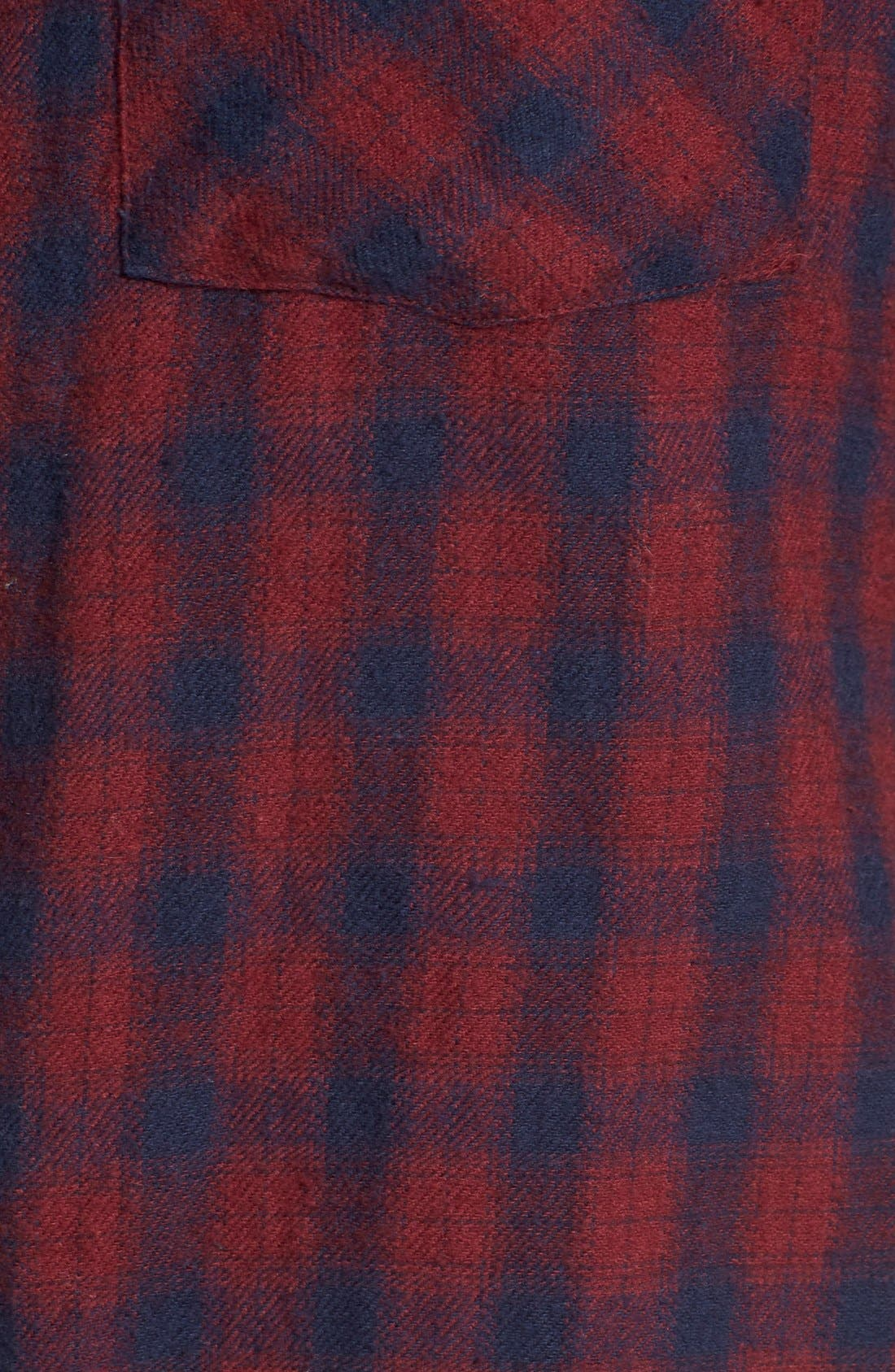 Alternate Image 5  - RVCA'Jig 2'Plaid Shirt