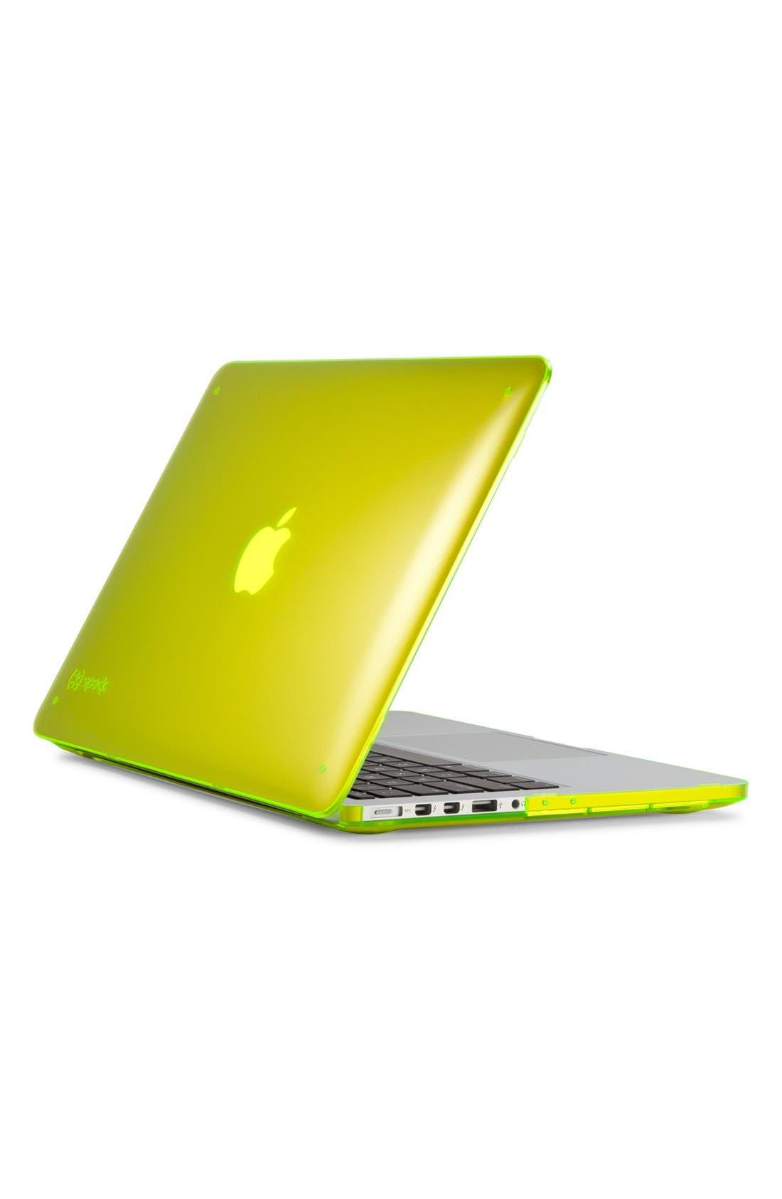 Alternate Image 1 Selected - Speck 'SeeThru' Snap-On MacBook Pro Retina Laptop Case (13 Inch)