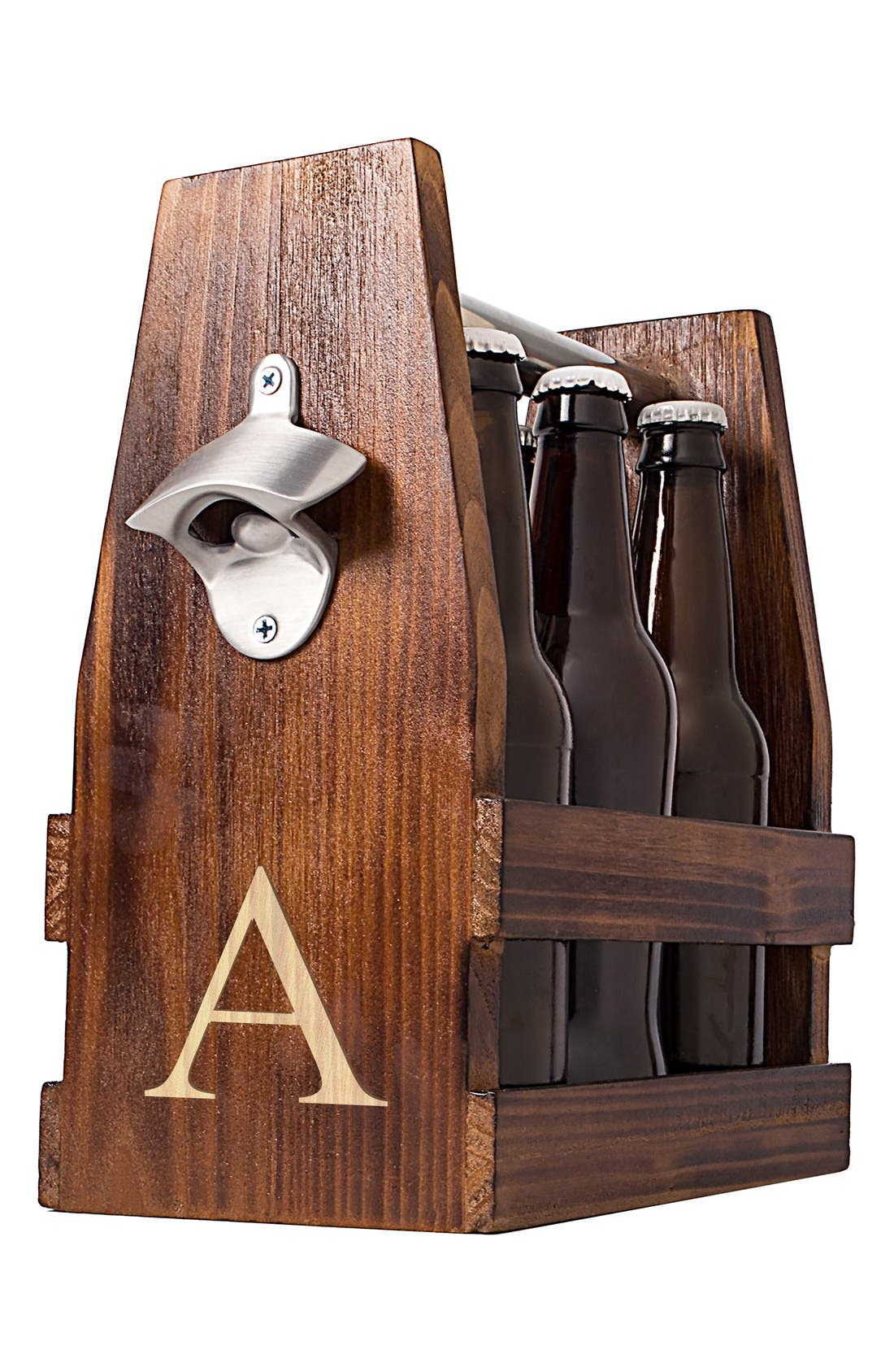 Alternate Image 3  - Cathy's Concepts Monogram Craft Beer Carrier