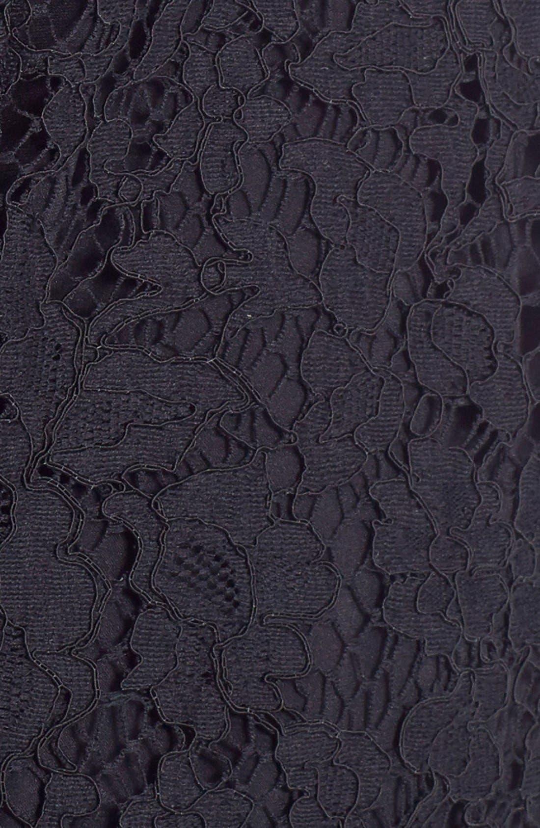 Alternate Image 3  - Dolce&Gabbana Scoop Neck Lace Dress