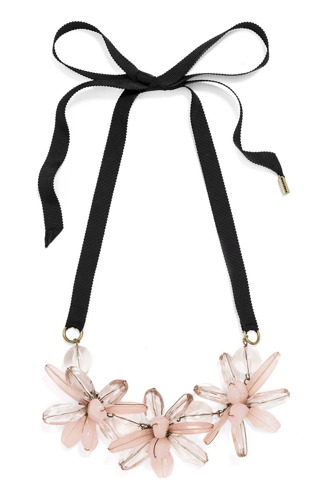 Alternate Image 1 Selected - BaubleBar 'Plumeria' Collar Necklace