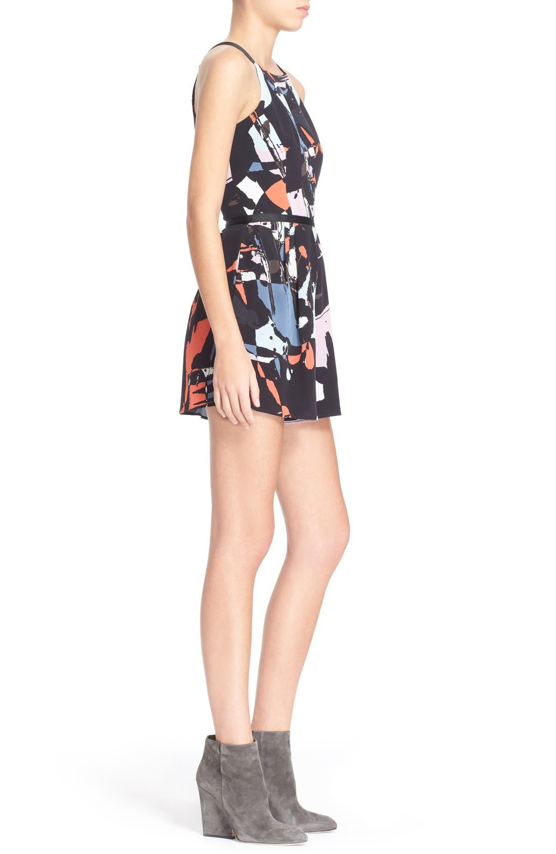 Alternate Image 3  - Hunter Bell 'Maggy' Print Silk Romper