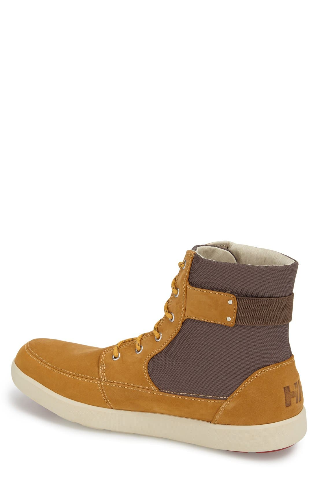 'Stockholm' Waterproof High Top Sneaker,                             Alternate thumbnail 4, color,                             New Wheat