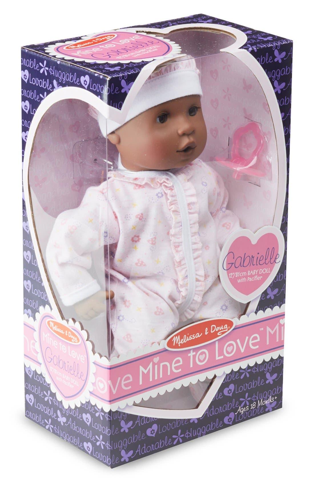 Alternate Image 2  - Melissa & Doug 'Mine to Love - Gabrielle' Baby Doll