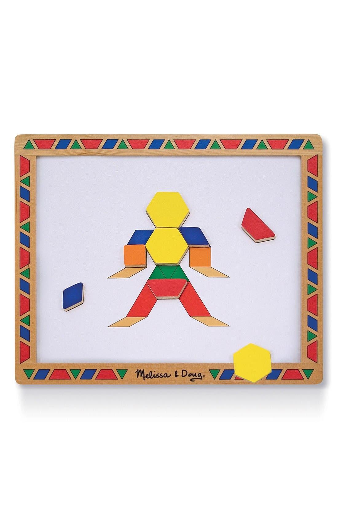 Magnetic Pattern Block Kit,                             Alternate thumbnail 2, color,                             Brown
