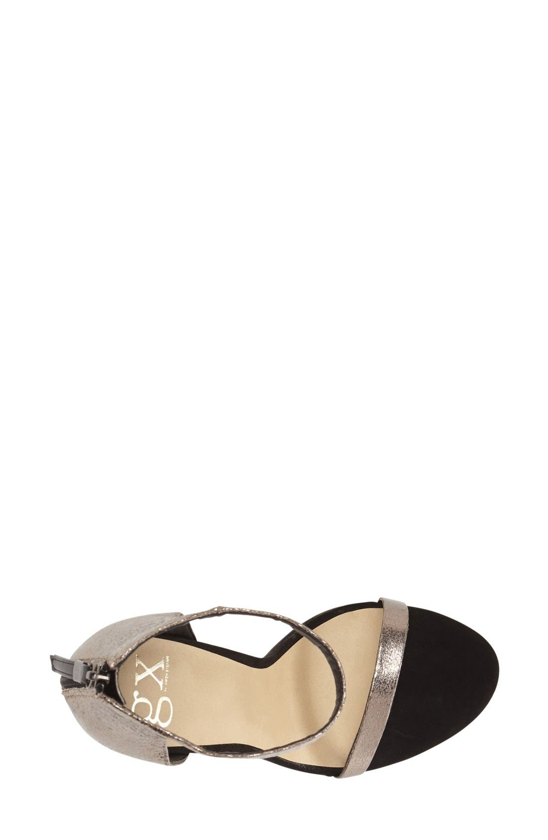 Alternate Image 3  - gx by Gwen Stefani 'Observe' Ankle Strap Sandal (Women)