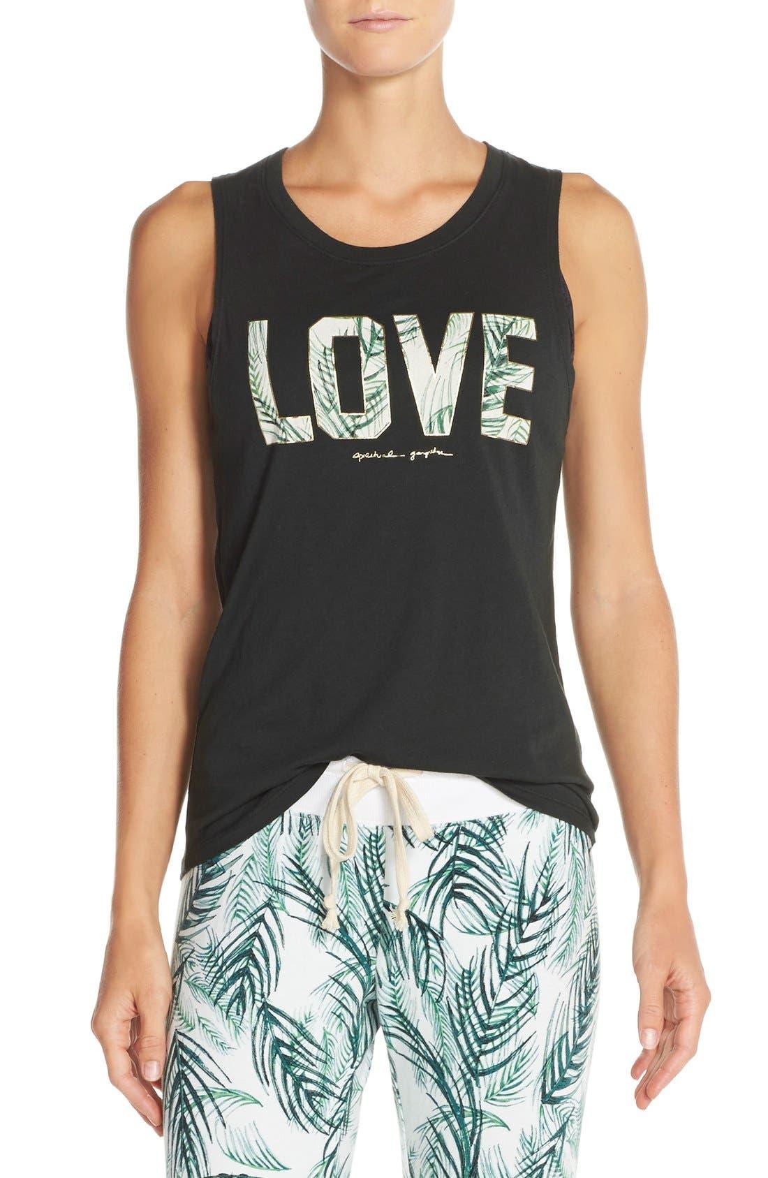 Alternate Image 1 Selected - Spiritual Gangster 'Palm Love' Supima® Cotton & Modal Tank