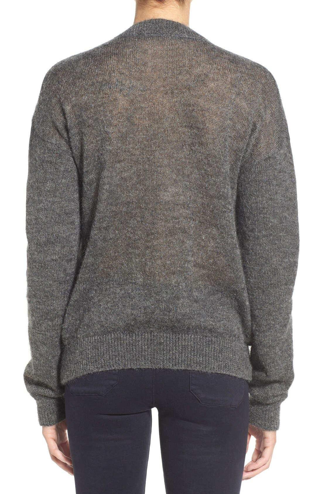 Alternate Image 2  - M.i.h. Jeans 'Delo' Mohair Blend Crewneck Sweater