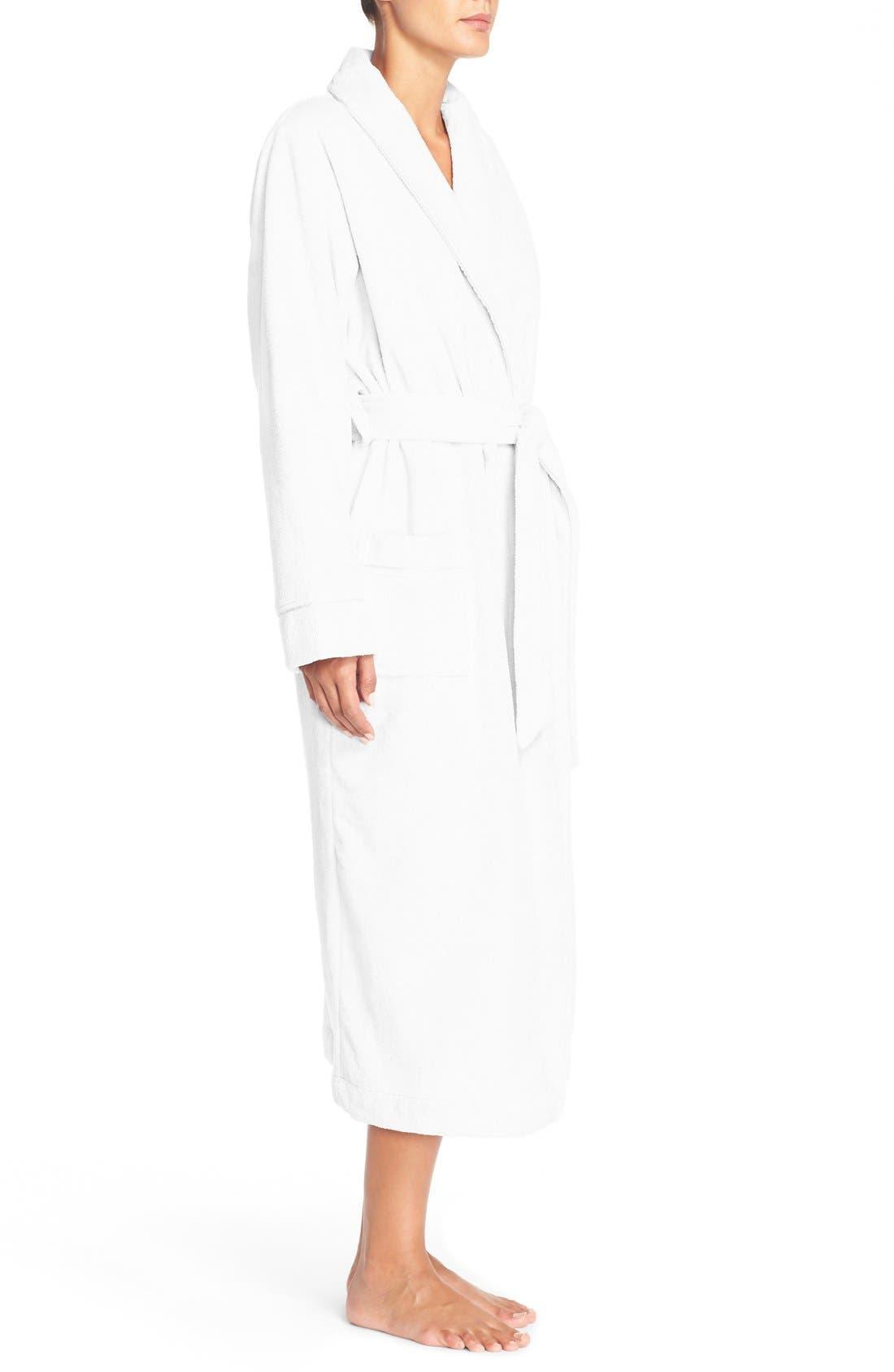 Alternate Image 4  - Nordstrom Lingerie Terry Velour Robe