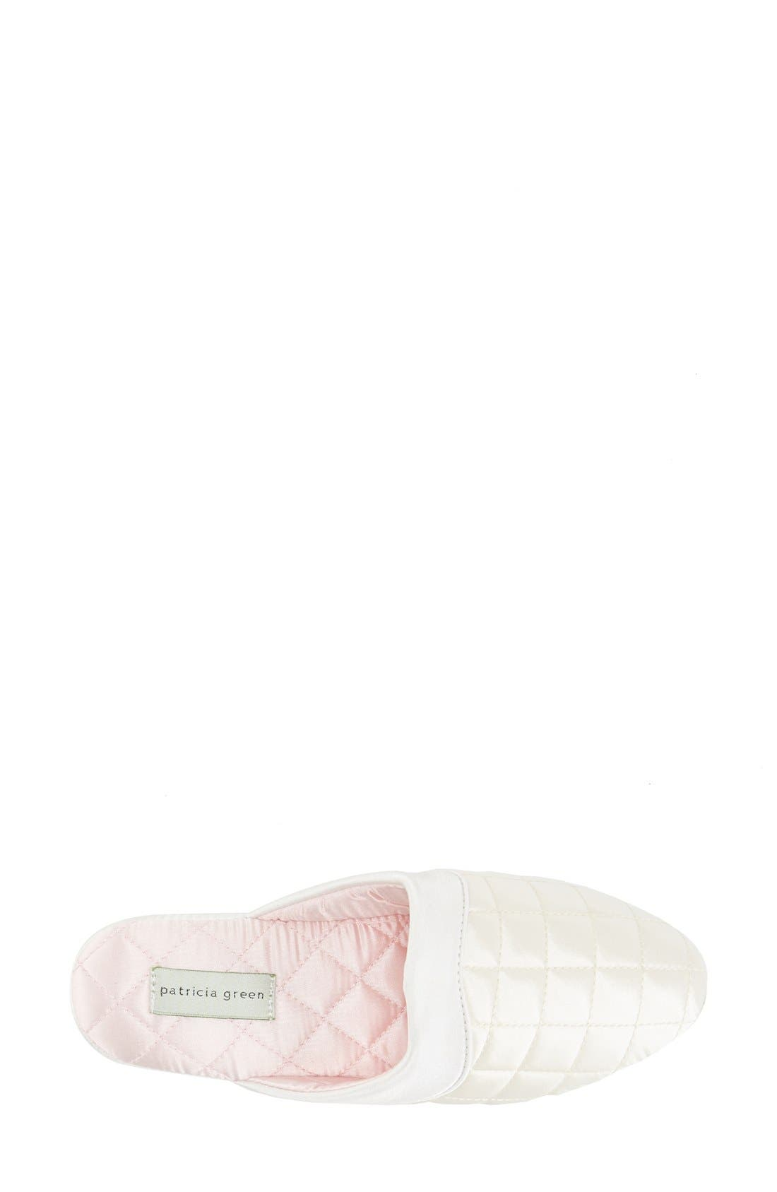 'Jackie' Slipper,                             Alternate thumbnail 3, color,                             Ivory/ Pink