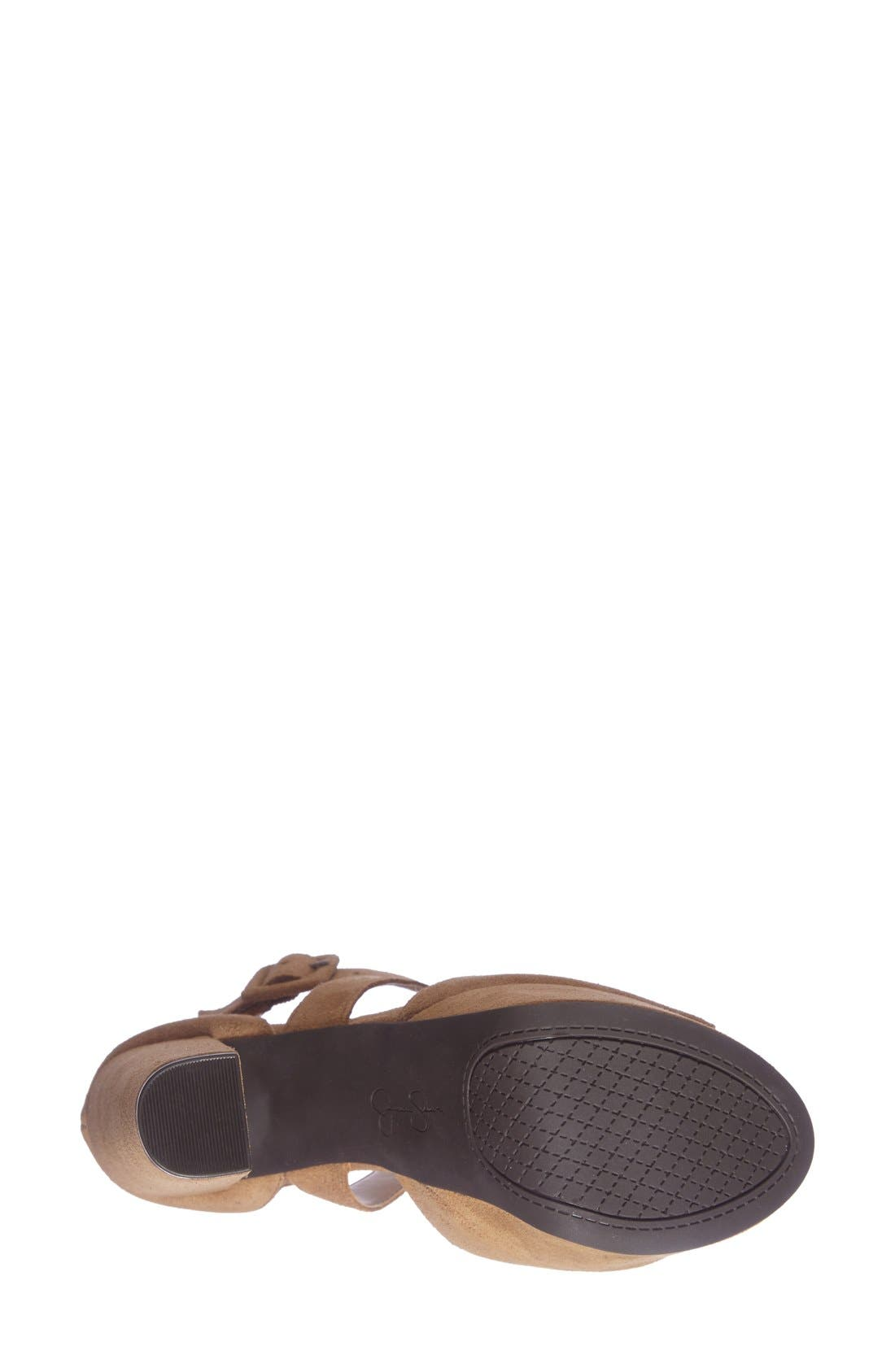 Alternate Image 4  - Jessica Simpson 'Derian' Platform Sandal (Women)