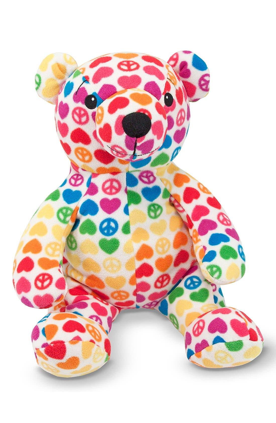 'Beeposh - Hope Bear' Plush Toy,                             Alternate thumbnail 2, color,                             Pink